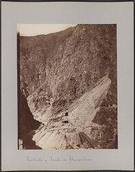 Quebrada y Tuneles de Champichaca