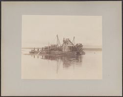 Dredge in River