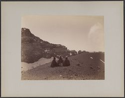 Panorama of Crater of Misti [? photograph]