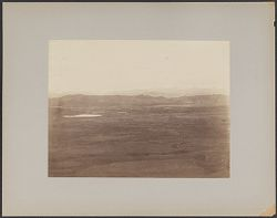 [View of land and mountains]