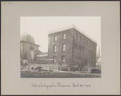 Astrophotographic Museum, April 27, 1902]