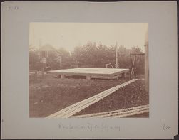Dome for 28 inch Reflector, July 12, 1887