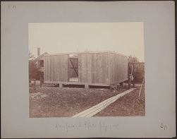 Dome for 28 inch Reflector, July 19, 1887