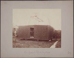 Dome for 28 inch Reflector, August 4, 1887