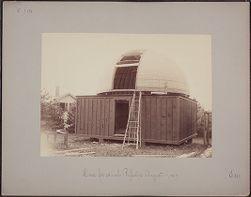 Dome for 28 inch Reflector, August 17,1887