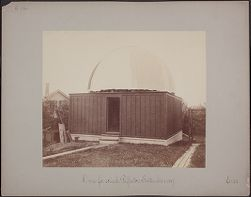 Dome for 28 inch Reflector, September 1, 1887