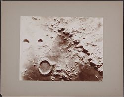 [View of surface of moon]