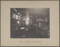 Interior of laboratory dark room