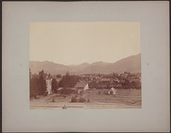 [View of town in California? photograph]