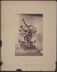 Transit of Venus 1874, Altazimuth [telescope] Station D, New Zealand