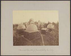 Astronomical Observatory of Harvard College, Cambridge