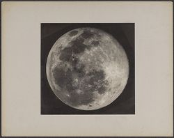 The Full Moon Reduced from an original made at the Jamaica Station of the Harvard Observatory