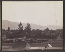 [View of town in western US]