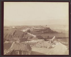 [View of structures near Arequipa, Peru]
