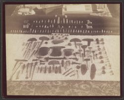 Stone and Copper Implements, Tiahuanuco, Bolivia