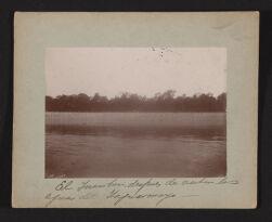 El Inambari, despues de recibir las aguas del Tupuarmayo.   Exploracion al rio Inambari