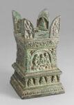 Miniature Stupa with Illustrations of Jataka Tales