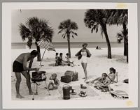 Untitled (Family Picnic, Longboat Key, Sarasota, Florida)