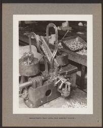 Semi-automatic relay spool head assembly machine