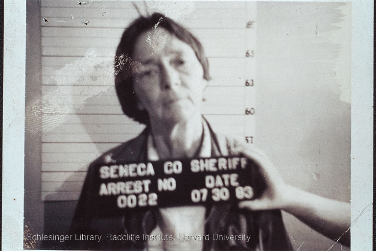 Barbara Deming's mug shot