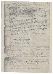 Account of Henry Dunster's expenses for the colony, 1646 October 8 (twentieth-century photostat copy) Digital Object