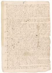 Lease of Glover Farm to Edmund Rice, 1647 September 29 Digital Object