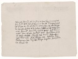 Notes by Henry Dunster on the birth date of Christ, [1651] Digital Object