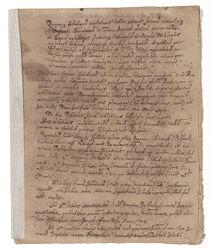 Quadriennium memoir, [1654] Digital Object