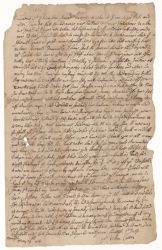 Letter from William Cutter to Henry Dunster, 1654 May 19 Digital Object