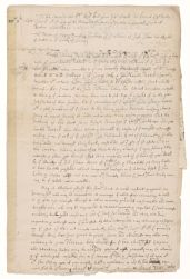 Petition of Henry Dunster to the General Court of Massachusetts, 1654 October 17 Digital Object