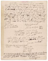 Deed of sale to Henry Dunster of land on Sudbury River, 1641 (manuscript copy, 1656 May 2) Digital Object