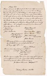 Deed of sale to Henry Dunster of land on Sudbury River, 1641 (manuscript copy), 1656 (eighteenth-century manuscript copy) Digital Object