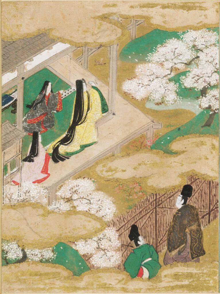 Young Murasaki (Wakamurasaki), Illustration To Chapter 5 Of The Tale Of Genji (Genji Monogatari)