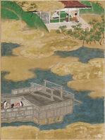 Suma, Illustration To Chapter 12 Of The Tale Of Genji (Genji Monogatari)