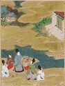 Akashi, Illustration To Chapter 13 Of The Tale Of Genji (Genji Monogatari)