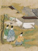 A Waste Of Weeds (Yomogiu), Illustration To Chapter 15 Of The Tale Of Genji (Genji Monogatari)