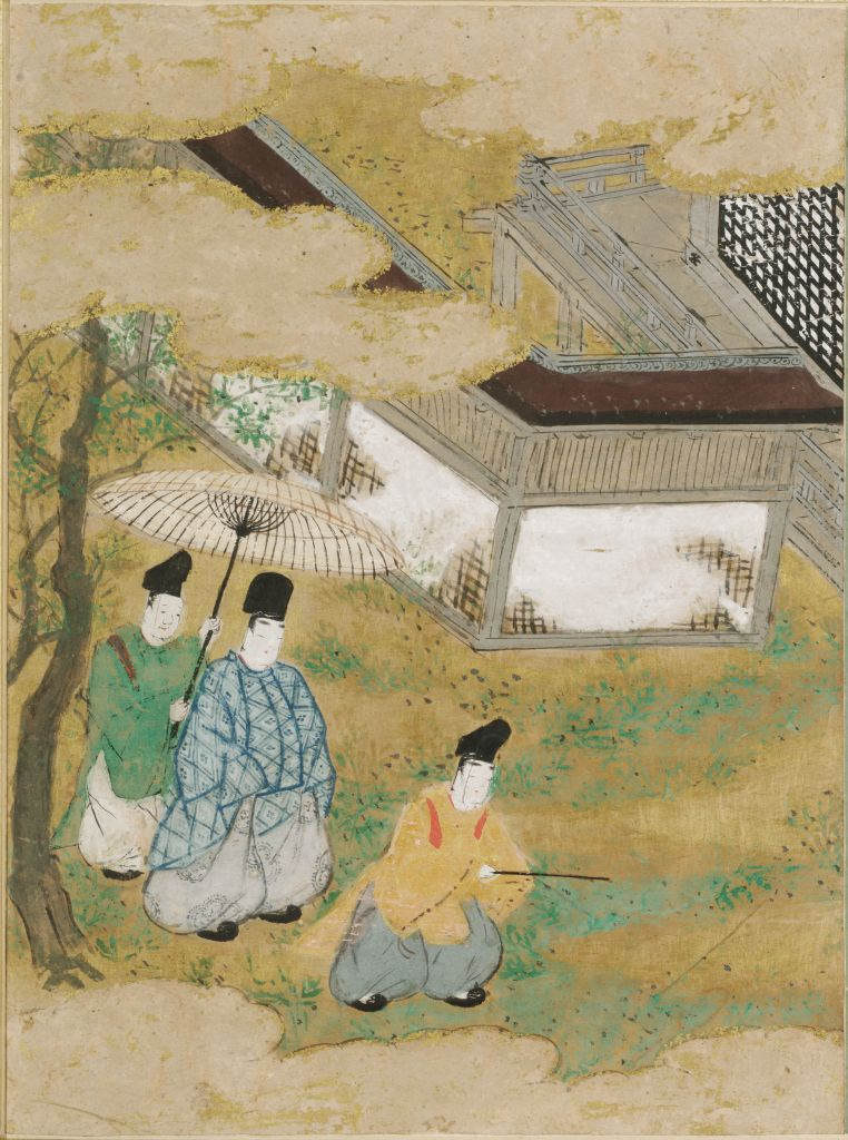 A Waste Of Weeds (Yomogiu), Illustration To Chapter 15 Of The Tale Of Genji (Genji Monogatari)