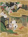 At The Pass (Sekiya), Illustration To Chapter 16 Of The Tale Of Genji (Genji Monogatari)