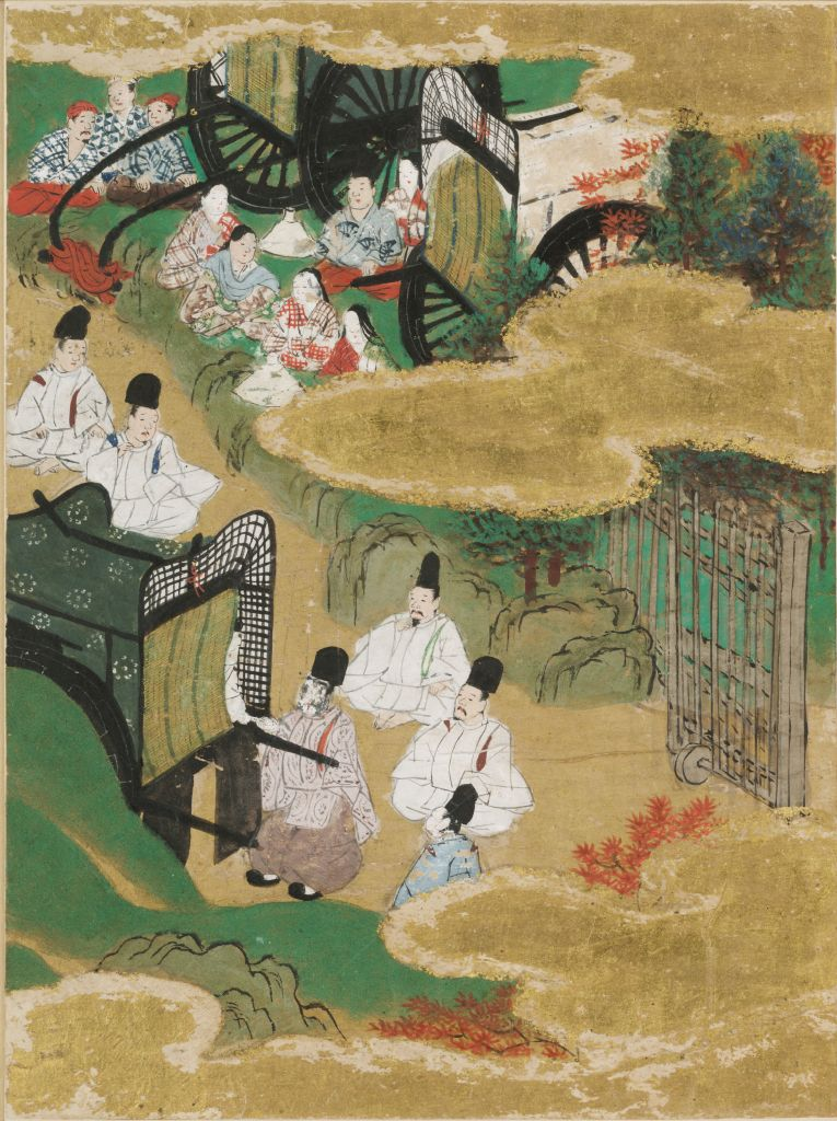 At The Pass (Sekiya), Illustration To Chapter 16 Of The
