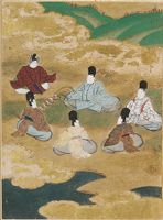Wind In The Pines (Matsukaze), Illustration To Chapter 18 Of The Tale Of Genji (Genji Monogatari)