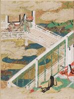 The Maidens (Otome), Illustration To Chapter 21 Of The Tale Of Genji (Genji Monogatari)