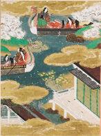 Butterflies (Kochô), Illustration to Chapter 24 of the Tale of Genji (Genji monogatari)
