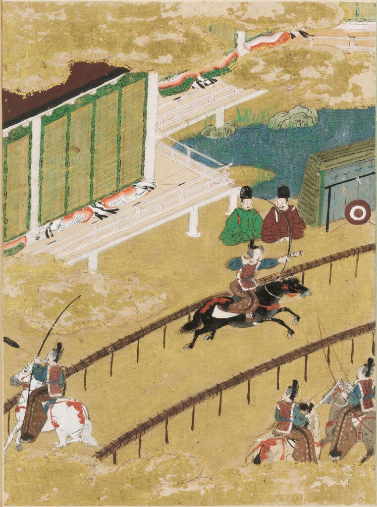 The Fireflies (Hotaru), Illustration To Chapter 25 Of The Tale Of Genji (Genji Monogatari)