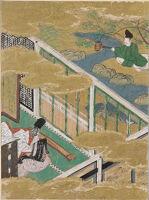 The Cressets (Kagaribi), Illustration To Chapter 27 Of The Tale Of Genji (Genji Monogatari)