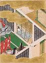 Thoroughwort Flowers (Fujibakama), Illustration To Chapter 30 Of The Tale Of Genji (Genji Monogatari)