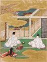 The Plum Tree Branch (Umegae), Illustration To Chapter 32 Of The Tale Of Genji (Genji Monogatari)