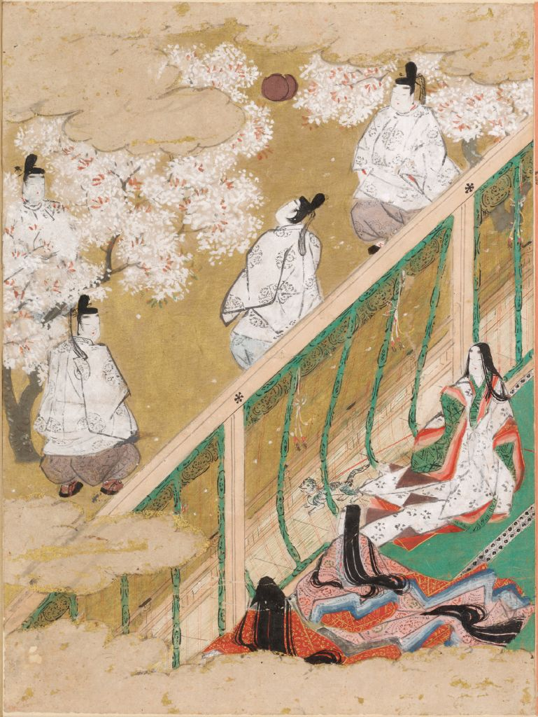 Spring Shoots I (Wakana: Jō), Illustration To Chapter 34 Of The Tale Of Genji (Genji Monogatari)
