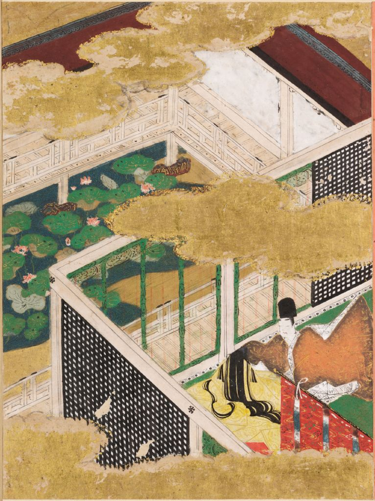 Spring Shoots Ii (Wakana: Ge), Illustration To Chapter 35 Of The Tale Of Genji (Genji Monogatari)