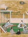 The Bell Cricket (Suzumushi), Illustration To Chapter 38 Of The Tale Of Genji (Genji Monogatari)
