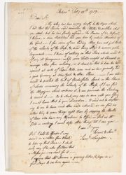 Letter from Samuel Langdon to Nathaniel Sparhawk, 1757 February 28 Digital Object